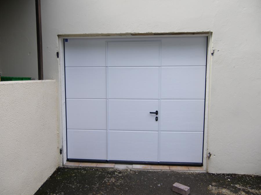 Atoutbaie vannes articles - Portes de garage sectionnelles avec portillon ...