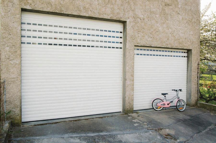 Atoutbaie vannes articles for Porte garage enroulable